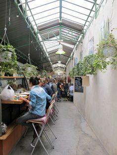 Marché des enfants rouge - Paris' oldest covered market in le Marais selling and serving local produce and international delicacies, 39 rue de bretagne Paris Travel, France Travel, Rouge Paris, Resto Paris, Paris City, Marais Paris, Café Bar, Paris Restaurants, Land Scape