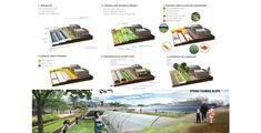 ASLA 2012 Student Awards | DESERT FARMING MOISTURIZER  Transition from dry lands to Domingo Eco-Community