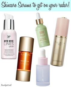 5 Skincare Serums to get on your radar!