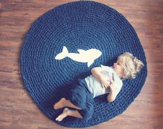 Crochet Rug Upcycle Pattern and Tutorial