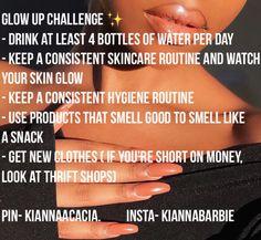 Glow up challenge ✨