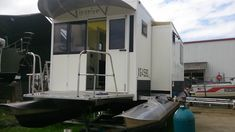 Welcome to Transformis The home of portable houseboats Trailerable Houseboats, Houseboat Ideas, Recreational Vehicles, Gallery, Home, Roof Rack, Ad Home, Camper, Homes