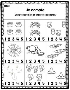 Crafts,Actvities and Worksheets for Preschool,Toddler and Kindergarten.Lots of worksheets and coloring pages. Theme Halloween, Halloween Science, Halloween News, Halloween Activities, Halloween Season, Fall Halloween, Halloween Crafts, Free Kindergarten Worksheets, Worksheets For Kids