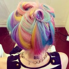 Hair colour majirel and amazing grey hair inn images rainbow hair poem