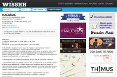 Nuovo WISSHH Partner a Milano: www.halosal.com