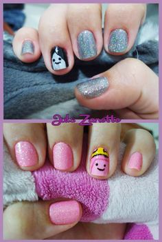 Adventure Time Nail art by julszanette - <3