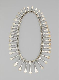 Coral Calder necklace  upcycled artist palette