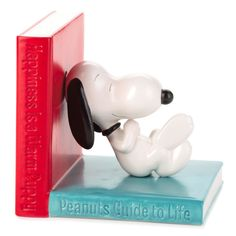 Peanuts® Happiness Is… Ceramic Bookend