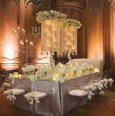 Photo: Larry Fagala ~ Tablescape: Events in Bloom  #tablescapes #wedding #weddingdecor #weddingsinhouston