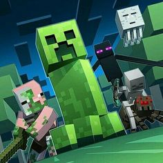 Minecraft wallpaper.
