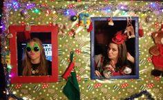 Ugly sweater party photo prop Ugly Sweater Party, Party Photos, Being Ugly, Photo Props, Frame, Sweaters, Decor, Picture Frame, Decoration