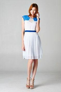 You Com-Pleat Me Polka Dot Dress