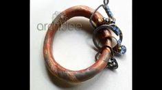 How to make Archidee's Satellite Bracelet  #Polymer #Clay #Tutorials
