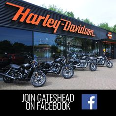 Find Jennings Harley-Davidson Gateshead on Facebook