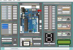 Made by myself! Arduino UNO simulator 1.3
