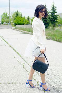 WoahStyle.com   Aritzia & Alexander Wang, white dress, street style