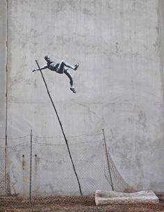 Banksy - for the olympic games 2012 in London