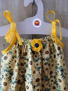 DIY Clothes DIY Refashion  DIY  MAKE A PILLOWCASE DRESS