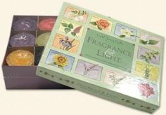 12 Candle Set Gift Box - Fragrance & Light by Linen and Gifts. $25.66. Fragrance & Light, An Inspirational Year and Fruit of the Month each make the perfect present.  Each collection consists of 12 wonderfully scented votive candles packaged in a beautiful illustrated gift box.  Fragrance & Light includes floral and herbal scented candles inspired by nature's changing seasons.  An Inspirational Year contains a selection from our ever popular herbal line and Fruit of the Month co...
