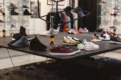 STEFFL Department Store Vienna - Sneaker Gallery  Credit: Maximilian Salzer Photography Department Store, Vienna, Shoe Rack, Gallery, Sneakers, Photography, Tennis, Slippers, Photograph