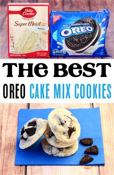 How to Make Oreo Cookies! This easy oreo cake mix cookies recipe is so easy to make, and seriously delicious! These cookies bend the perfect mix of crunchy and softness into one epic cookie. Cake Mix Cookie Recipes, Cake Mix Cookies, Oreo Cookies, Yummy Cookies, Cake Recipes, Cookie Mixes, Cheesecake Cookies, Pumpkin Cheesecake, Meal Recipes