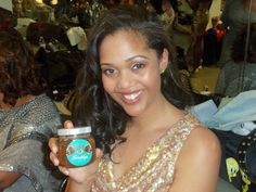The Glamorous Kellee Blanks, Winner Miss Photogenic 2012 Miss Black New Jersey Pageant, loving our Born in Brooklyn Skin Care product