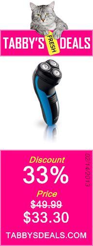 Philips Norelco 6940 Reflex Action Men's Shaving System $33.30