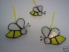 Bumble Bee sun catchers set of 3 (1 large, 2 small)