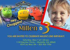 chuggington invites