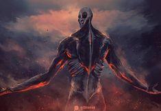 Attack On Titan Season, Attack On Titan Eren, Attack On Titan Fanart, Levi Titan, Titan Shifter, Arte Obscura, Colossal Art, Sarada Uchiha, Panzer