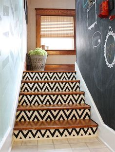 Turn that old staircase into a masterpiece without breaking out the tools.