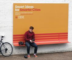 ibm - smarter cities bench wired design