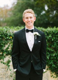 classic tuxedo groom | Loft Photographie #wedding | See more about Tuxedos, Loft and Grooms.