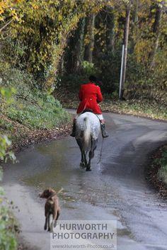 Heading away on a dapple grey horse, via Flickr.    www.Hurworth-Photos.co.uk