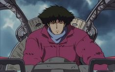 GIPHY is how you search, share, discover, and create GIFs. Cowboy Bebop Anime, See You Space Cowboy, Samurai Champloo, Arte Cyberpunk, Space Cowboys, Comic Book Artists, Cute Icons, Manga, Anime Style