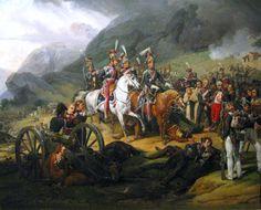 Battle of Somosierra 1808 by Horace Vernet