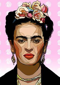 : Photo Fridah Kahlo, Frida Paintings, Frida Kahlo Portraits, L'art Du Portrait, Frida Art, Arte Pop, Mexican Art, Mural Art, Embroidery Art