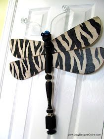 Lucy Designs: Dragonflies - Stripes, Circles, Zebra, Leopard and Tin Tile Wings