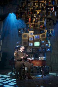 Matilda on Broadway // Miss Trunchbull steals the show