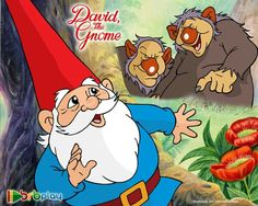 David the Gnome - A cartoon that was aired on Nickelodeon. 90s Childhood, My Childhood Memories, Sweet Memories, David The Gnome, Gnome 4, Back In My Day, 90s Cartoons, 90s Nostalgia, Kids Tv