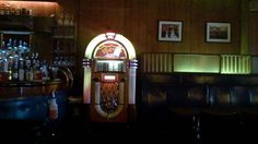 The jukebox at the Anchor Bar, New Haven CT