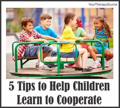 Do you ever find yourself thinking I wish this group of kids could just get along better? Maybe it is during a group therapy session, a play date, recess or siblings that could benefit from some tips to help them cooperate. Here are 5 tips to help you teach children how to get along: 1. …