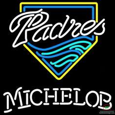Michelob San Diego Padres Neon Sign MLB Teams Neon Light