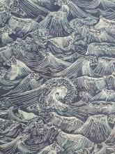 Ocean blue, Liberty London Baumwolldruck auf Tana Lawn Batist, Liberty Art Fabric