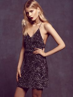 MLV Midnight Manic Mini at Free People Clothing Boutique Dance Dresses, Cute Dresses, Casual Dresses, Short Dresses, Formal Dresses, Backless Dresses, Beautiful Dresses, Party Dress Outfits, Evening Outfits