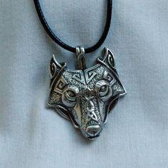 Wolf Norse Pendant Fenrir Amulet Talisman by SergSilverStudio