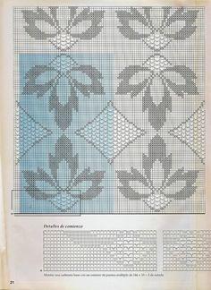 Crochet: Bedspread d0