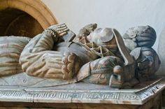 Digby effigies Stoke Dry, St Andrew's Church Rutland England