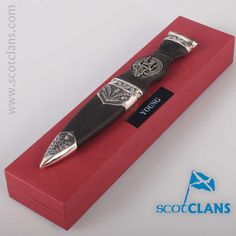 Young Clan Crest Sgian Dubh. Free worldwide shipping available