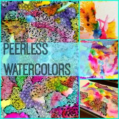 peerless watercolors, zentangle, tutorial